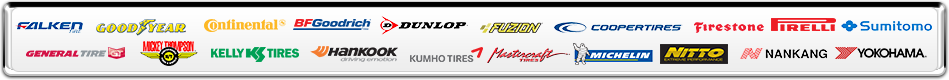 Tire Brands in Homestead FL, Kendall FL, and Key Largo FL at Speedway Car Care